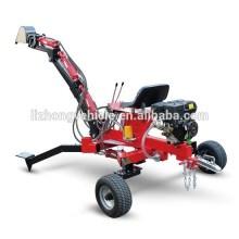 China best 9HP Gasoline engine kubota tractor backhoe,small backhoe loader for sale,garden tractor backhoe
