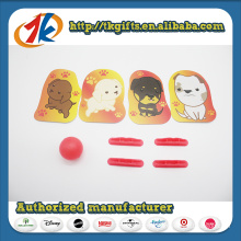Child Game Plastic Shooter Toy with Funny Card