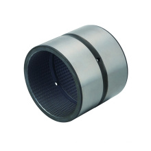 Best price customized high precision 42CrMo mesh screwed steel bushing with net oil groove inside of bearing