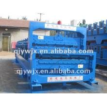 QJ Automatic Double Layer IBR Profile Roof Roll que forma la máquina