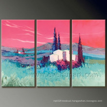 Wall Art for Decor Scenery Oil Painting on Canvas (LA3-130)