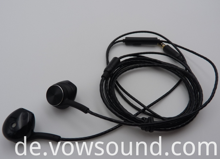 Wired Headphones Earbud with Microphone