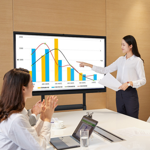 65 Zoll interaktives Touchscreen-Whiteboard