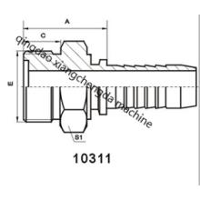 Гидравлическое прямое уплотнительное кольцо с метрической муфтой