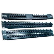 Telecommande 2U UTP Patch Panel RJ45 CAT6 12/24/36/48/96 port avec modules Krone 110 IDC