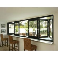 Max. Offenheit Schieben Falten Aluminium Türen und Fenster