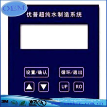 Free Sample membrane switch with graphic overlay manufactured in China