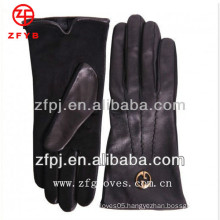 Cool gentleman leather driving gloves