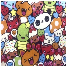 Custom 100% Cotton French Terry Hoodie Baby Fabric