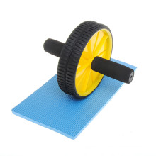 Ab Wheel Roller with Knee Mat Fitness Exerciser Abdonimal