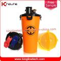OEM 700ml Garrafa de abatimento duplo separada de plástico BPA Free Hydra Cup (KL-7015)