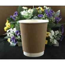 Cheap Kraft Logo Printed Disposable Paper Coffee Cups
