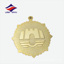 High quality Shezhen suppliers gifts awards gold plating metal medal
