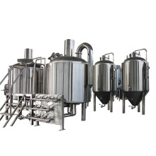 300L per day brewing beer equipment micro plant for sale