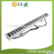 Led lineare Beleuchtung fixture12w DMX RGB Druckguss Aluminium LED Wall Washer Licht für Projekt