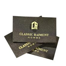 Custom Brand Name Logo Garment Damask Woven Labels for T Shirt