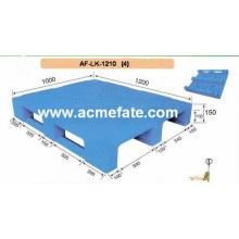 Exportación de paletas de plástico de cuatro direcciones de venta caliente