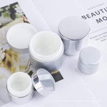 Tarro cosmético vacío plástico modificado para requisitos particulares del cuidado de piel de columnar