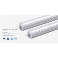 Lumière de tube LED en aluminium dimmable T5 3000K 8Ft