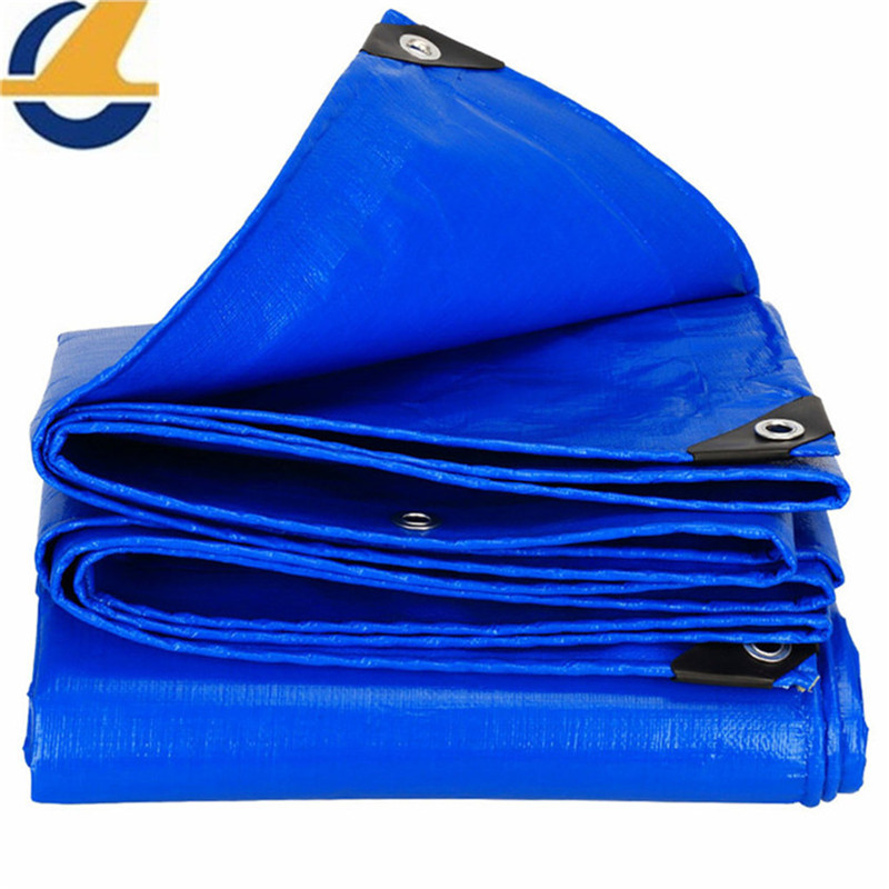 Vinyl tarps blue color