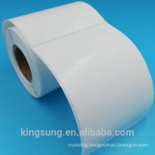 factory price semi gloss paper self adhesive label maker