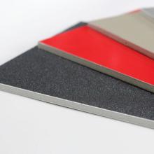 Panneau composite en aluminium ignifuge installé rapidement