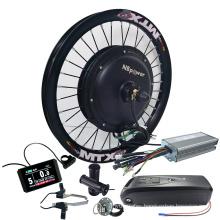 48v 1500w 1000w Electric Bike Kit With Battery