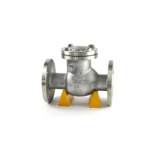 air dan minyak medium cast iron swing flange check valve pn16