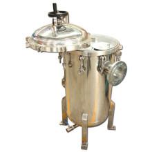 Alojamentos de filtro de saco materiais altamente duráveis Ss316 / 304