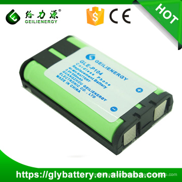 Baterias de reposição da marca GLE para telefone sem fio