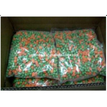 Замороженные смешанные овощи (морковь и горох)
