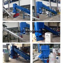Máquina de aglomeração de produtos químicos de fibra