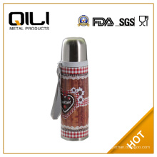 Drink bottle manufacturer double layer thermos flask