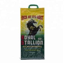 Dapoly cheap wholesale 10kg 20kg 50kg packaging rice BOPP lamination polypropylene woven sacks bag