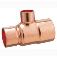 Tube de réduction en cuivre J9102, raccord de tuyauterie en cuivre TEE, UPC, NSF SABS, approuvé WRAS