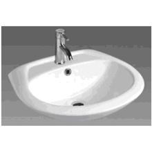 D608 Bathroom Ceramic Round Bathroom Basin