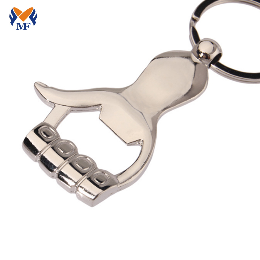 Custom Bottle Opener Keychain No Minimum