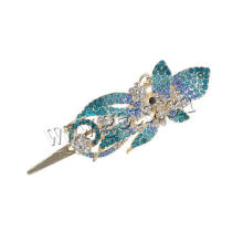Gets.com zinc alloy skeleton hand hair clip pair