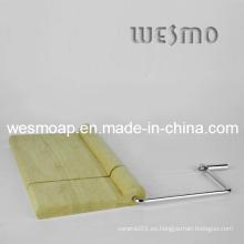 Tablero de corte del queso de bambú (WTB0314A)