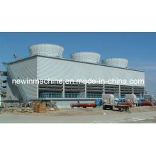 Torre de refrigeração da água do mar
