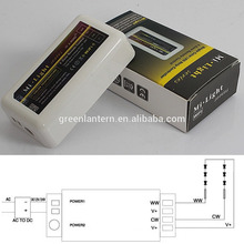 Mi Light 2.4G RF 4-Zone WIFI Controller Wireless Dual White & Brightness Adjustable Dimmer for WW/CW Single Color led strip