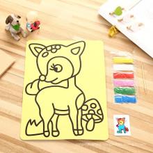 Hot Sales New Design Color Sand Art, Sand Art Card, Sand Art Paper