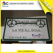 Vertrauenswürdige China-Lieferanten benutzerdefinierte Vinyl-Material für Duschvorhang und Werbung Display PVC Vinyl Banner