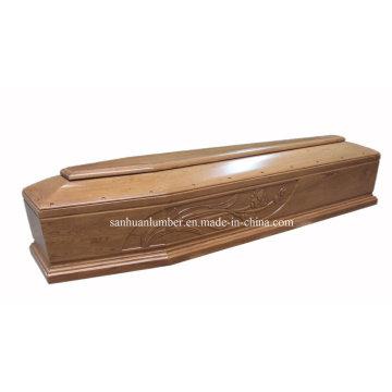 Bildhauerei schnitzen Gravieren Holzsarg & Sarg (#EU014)