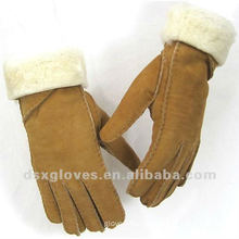 shearling Turn Cuff Sheepskin Gloves