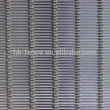 Pantalla decorativa de malla de alambre de metal