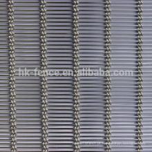 Tela decorativa da janela da rede de arame de metal
