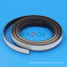 soft flexible rubber self adhesive magnetic strip
