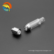 UK wholesale bottom airflow lead free thick oil empty 0.5ml glass vape cartridge AG03 ceramic coil 1ml cbd cartridges