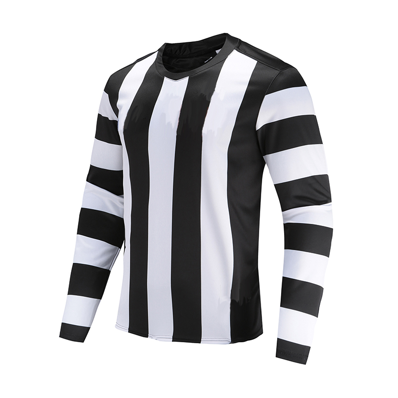 Soccer Wear Polyester Stripe
